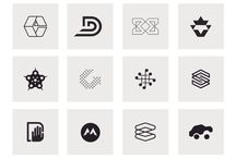 Monomarks Archive Cards / Monomarks.co - a collection of individual Logomarks, Icons & Symbols, from my Logo Design Portfolio, displayed in glorious Techniblack.