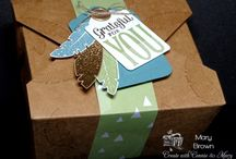 Stampin Up Take Out Boxes