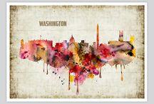 Artollo Watercolor Prints Box 21 / Watercolor Prints for your wall! Watercolor illustrations. Watercolor. Watercolor Posters. Watercolor Wall Decor. Watercolor Home Decor. Find us: http://www.artollo.com/arts/watercolor-prints/box-21/