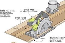 router a circle saw straight edge