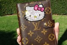 Custom Louis Vuitton  / by Carolina Drilling