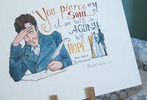 Jane Austen / by Darcy Lambrecht