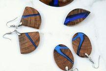 šperky drevo