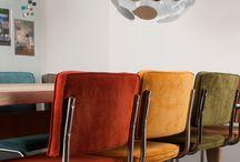 Collectie | Zuiver Ridge Rib / De nostalgische collectie #Ridge Rib van Zuiver staat voor #hippe, #moderne en zeer #comfortabele serie #stoelen en #barkrkukken