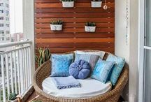 Balcony and patio