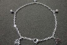 Titanium Anklets - Silvblue
