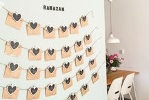 Ramadan activities / Ramadan calendar DIY