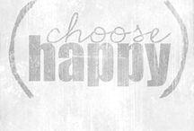 choose happy