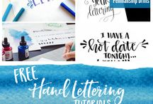 »Hand Lettering«