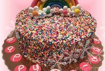 Fun Rainbow Cakes