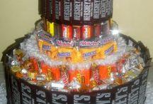Grandpa's party--candy bar ideas