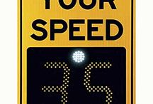 """Radar Speed Indicator Signs / Radar speed signs, also called speed display signs, driver feedback signs, and """"Your Speed"""" signs, are an effective and affordable tool to slow drivers down. The signs display the speed of approaching vehicles, making speeding drivers aware that they are exceeding the speed limit. Studies have shown radar signs produce 10-20% reductions in average roadway speeds, along with an increase in compliance with the posted speed limit.  For more: http://www.xwalk.com/pages/speed-indicator-signs.htm"""
