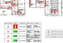 Projetos prevenção a incêndios / Projetos prevenção a incêndios