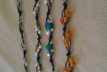 kedvenc hobbim / karkötők, nyakláncok, fülbevalók - saját készítésüek :)