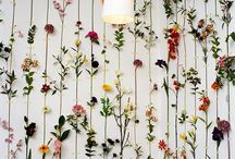 Inspired Flowers / Featuring unique ways to use flowers to enhance surroundings and convey a message.