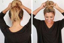 Frisuren für langes Haar