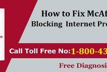 How to Fix McAfee Blocking Internet Problem
