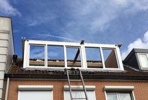 Dakkapel Assendelft / Plaatsing kunststof dakkapel van 5.000 x 1.650 mm. in Assendelft