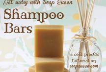 Homemade Shampoo and Hair Treatments