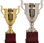 Trophy Cups / We carry Large Trophy Cups, Large Metal Silver Cup, Championship Cup trophies for all occasions. We offer a complete line of quality awards and trophies for the Corporate kick off event, team, or Metal Cup Trophy for your league's Tournament. Trophy Cups discounts for large orders on Championship trophies and Large Championship.