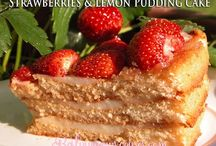 dessert cake of fruits/nuts