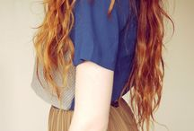 HAIR ideas / differt hairstyles, different skin, hair or eye colours --> different people