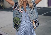 Patches and jeans