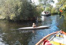 Mijn kano / Over mijn kano die ik in 2013 op mijn verjaardag heb gekregen.