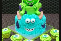 Gâteaux 3D Monstres & Company