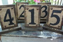 Wedding - Table Numbers