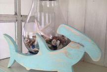 Nautical, Seaside Children's Bathroom for the Boys / by Kelly Johnson