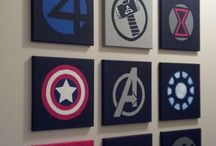 Marvel decor ideas