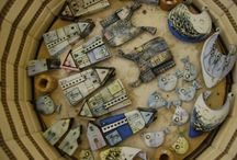 packed pottery kilns