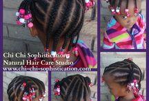 African kid's hair styles
