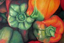 Tannis Trydal's Original Colour Pencil artworks