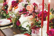 Burgundy wedding inspiration / Wedding inspiration