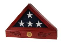 Flag Cases / Beautiful wood flag cases skillfully crafted in the United States.