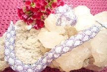 Bijuteriile mele / Bijuterii lucrate cu mare drag din margelute Toho, Delica, cristale Swarovski