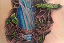 Koi and dragon leg tattoo completion