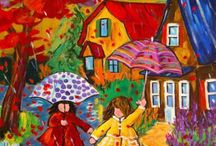 Happy art / Happy colourful pictures and sculptures and stuff...that all make me smile  / by Helen Cox