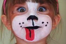 maquillages pour le carnval et halloween / tous les maquillages pour le carnaval , Halloween