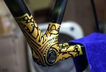 Custom Painted Bikes