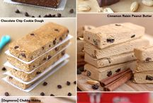 Protein Bar Recipes / Protein bars snacks etc