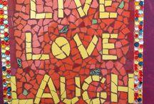 Frases em mosaico
