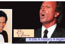 A life A history A legend JULIO IGLESIAS / THE MOST POPULAR LATIN SINGER OF THE LATE 20TH CENTURY AND BEYOND A SMOOTH CROONER WITH ROMANTIC APPEAL ACROSS THE GLOBE