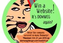 Wedstrijd Win a Website! / De Win a Website wedstrijd van Domweg Design, waar je met de beste pitch of het leukste plan een design website kunt winnen.