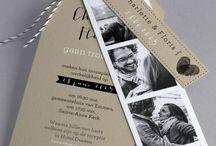 Trouwkaarten / De mooiste trouwkaarten voor je bruiloft
