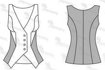 patrones de ropa bonita