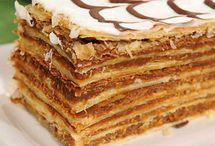 Masas dulces, dulces y pasteles