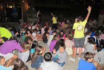 Veladas nocturnas Campamentos de inglés GMR / En la que participan los monitores titulados